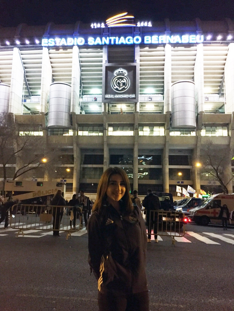 Estadio Santiago Bernabéu, Madrid. www.weareinfinite.blog
