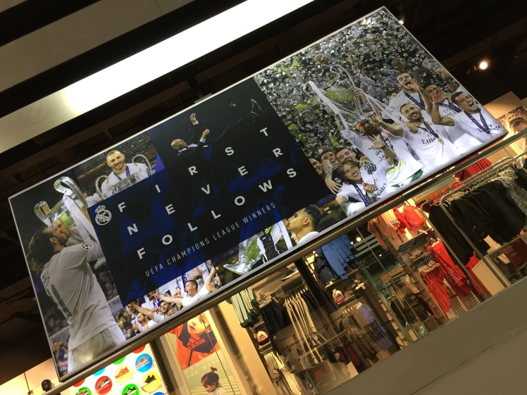 Oficial store Real Madrid
