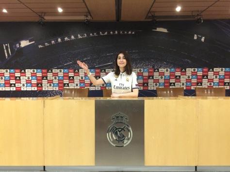 Estadio Santiago Bernabéu, Madrid, España