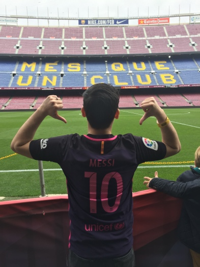 Camp Nou! Barcelona www.weareinfinite.blog