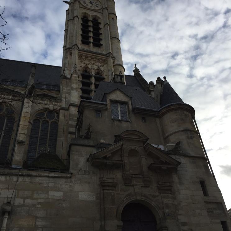 Iglesia de Saint-Étienne-du-Mont, París www.weareinfinite.blog