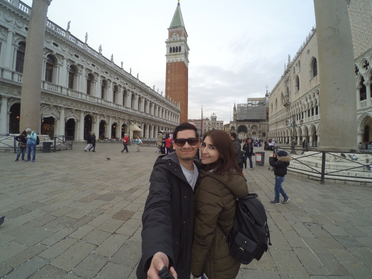 Plaza San Marcos, Venecia, Italia www.weareinfinite.blog