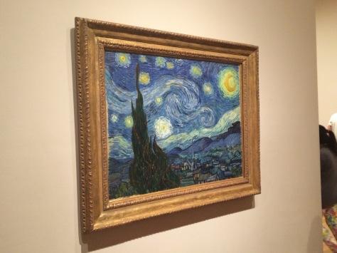 La noche estrellada, Vincent van Gogh, MoMA