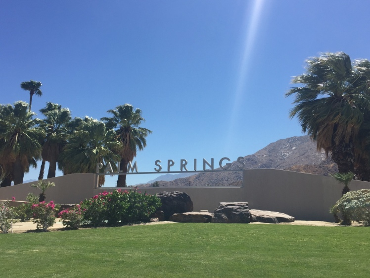 Palm Springs! www.weareinfinite.blog