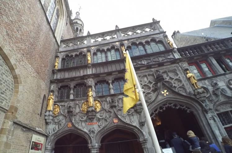 Basílica de la Santa Sangre, Brujas, Bélgica www.weareinfinite.blog