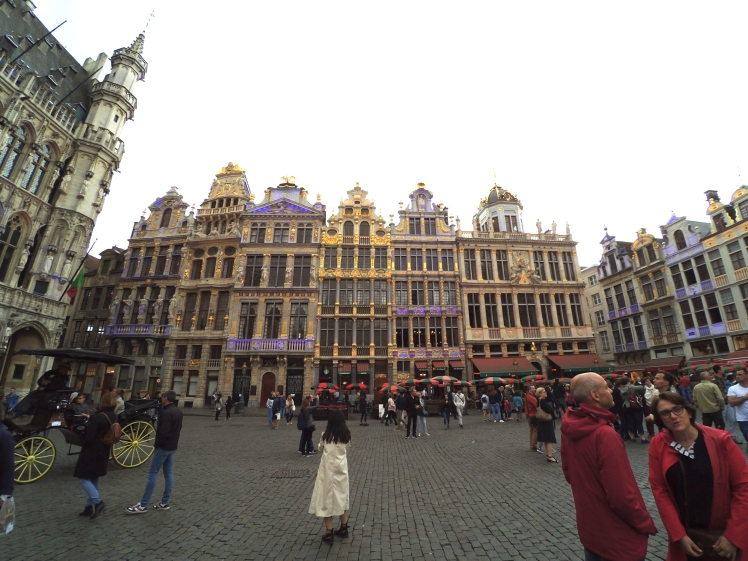 Grand Place, Bruselas, Bélgica. www.weareinfinite.blog
