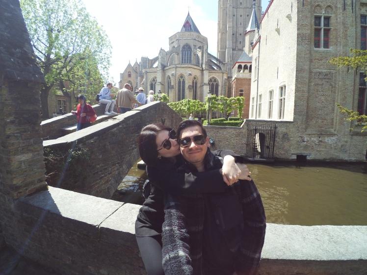 Puente San Bonifacio, Brujas, Bélgica www.weareinfinite.blog