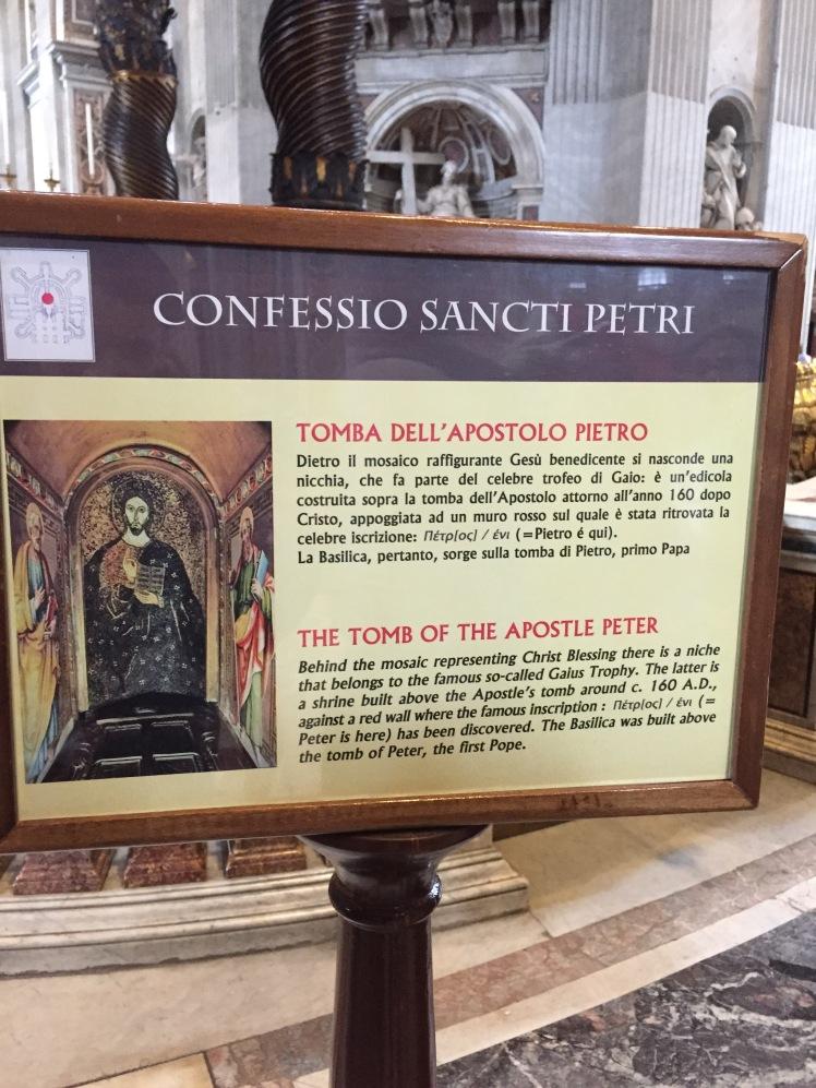 Basílica de San Pedro, Ciudad del Vaticano, Italia www.weareinfinite.blog