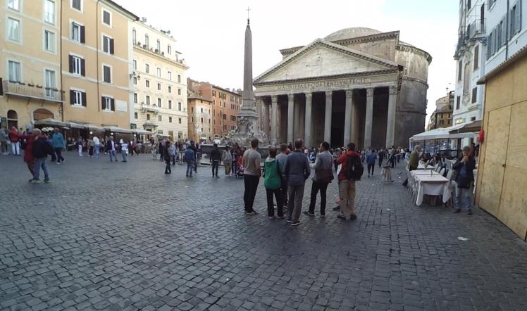 Panteón de Agripa, Roma, Italia www.weareinfinite.blog