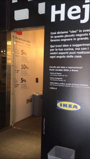 Ikea! Roma, Italia www.weareinfinite.blog