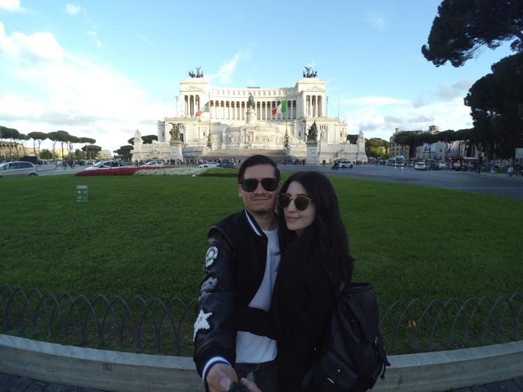 Monumento a Vittorio Emanuele II, Roma, Italia www.weareinfinite.blog