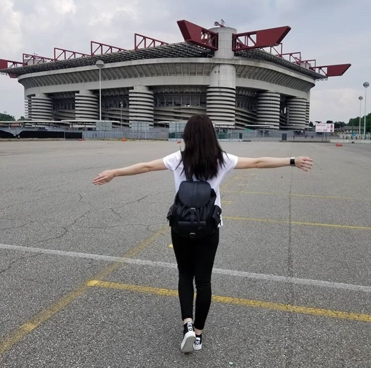 Estadio Giuseppe Meazza, Milán, Italia www.weareinfinite.blog
