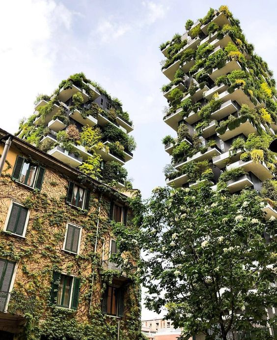 Bosco Verticale, Milán, Italia www.weareinfinite.blog