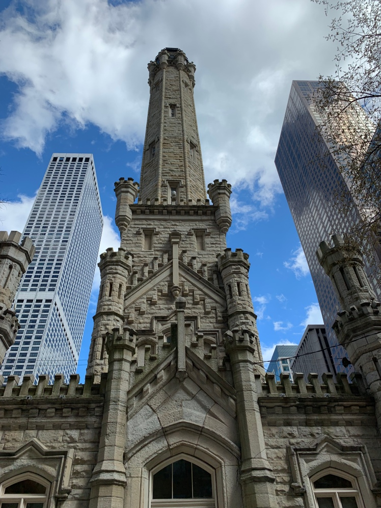 Water Tower, Magnificent Mile, Chicago www.weareinfinite.blog