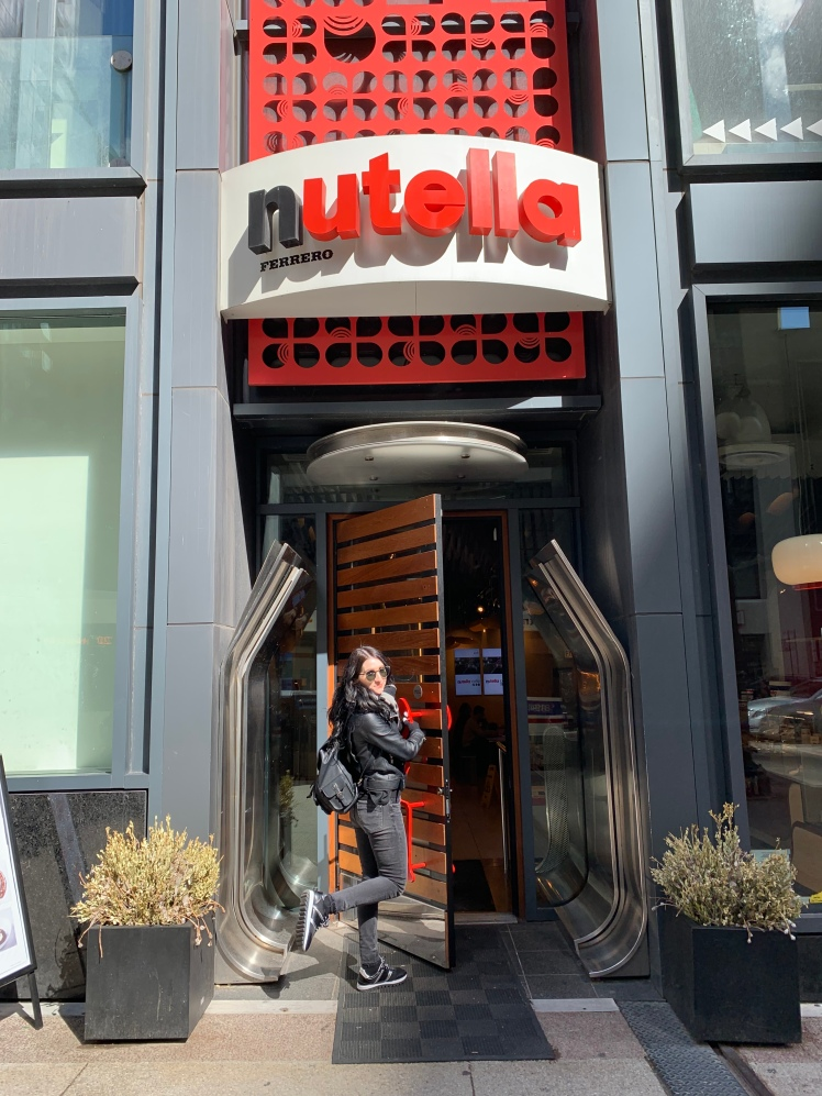 Nutella Cafe, Chicago www.weareinfinite.blog