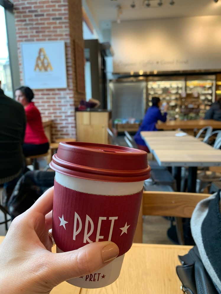 Pret A Manger, Chicago www.weareinfinite.blog