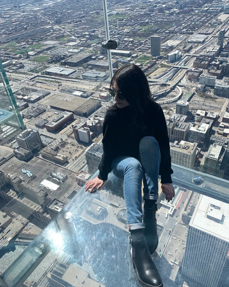 The Ledge, Skydeck Chicago, Willis Tower, Chicago www.weareinfinite.blog