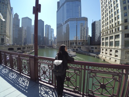 Puente DuSable, Magnificent Mile