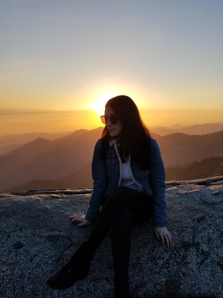 Moro Rock, Sequia National Park, California, USA www.weareinfinite.blog